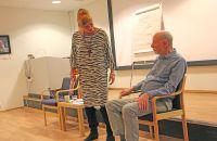 Sexual grounding therapy. NFP holdt fagkveld i Oslo - lærerikt og spennende.