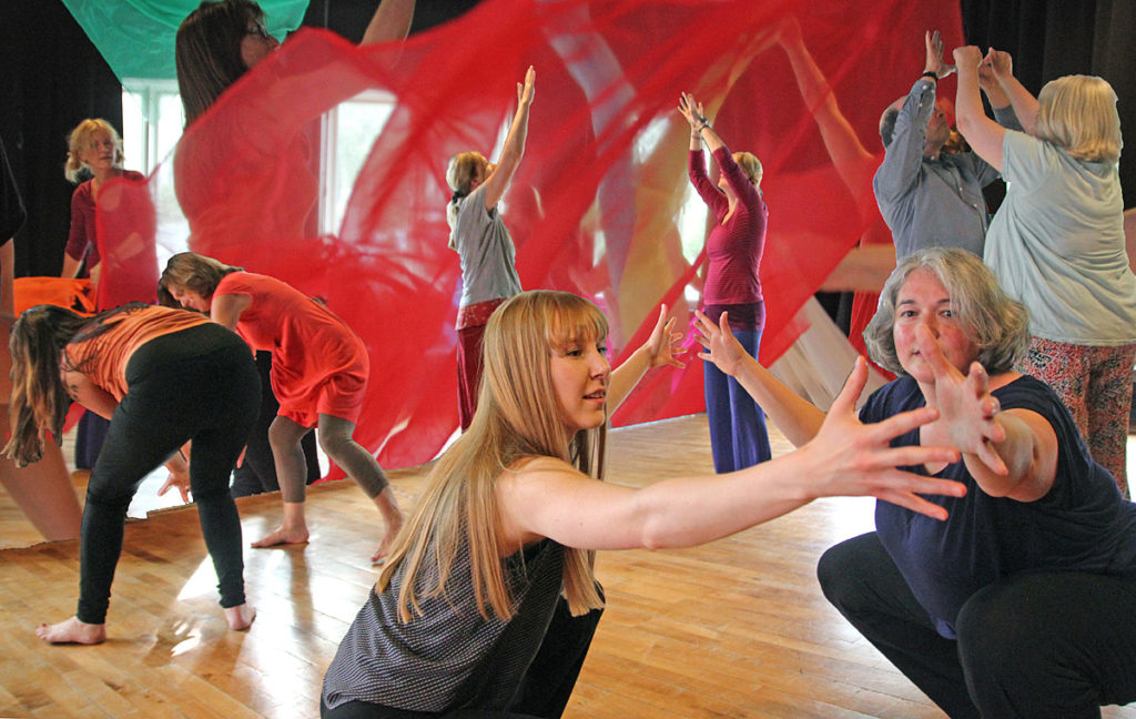 Videreutdanning i danse og bevegelsesterapi 30 studiepoeng på Masternivå