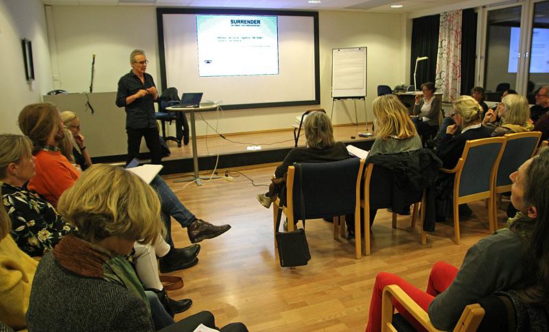 Traumetarapi - NFP holder fagkveld, foredragsholder Jørgen Thorkildsen