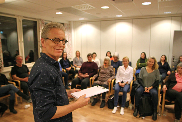 Traumetarapi - NFP holder fagkveld, foredragsholder Jørgen Torkildsen