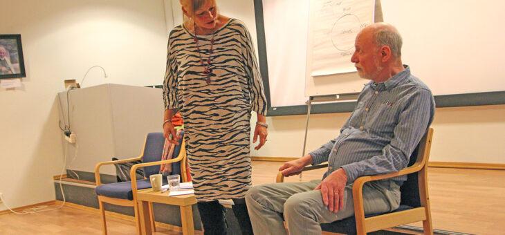 Sexual grounding therapy. NFP holdt fagkveld i Oslo – lærerikt og spennende.